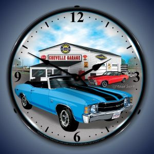 1971 Chevelle LED Lighted Wall Clock
