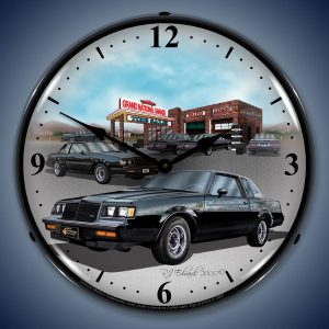 1987 Buick Grand National LED Lighted Wall Clock