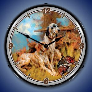 After The Hunt LED Lighted Wall Clock