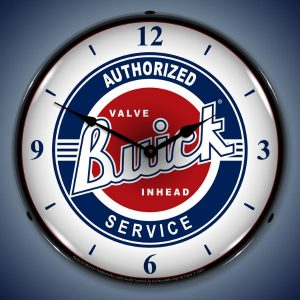 Buick Service LED Lighted Wall Clock