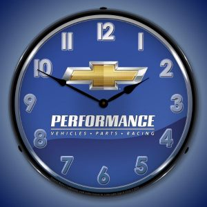Chevrolet Performance LED Lighted Wall Clock