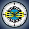 Chevrolet Super Sport LED Lighted Wall Clock