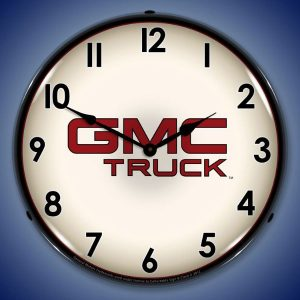 GMC Truck LED Lighted Wall Clock