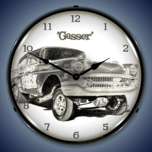 Gasser LED Lighted Wall Clock