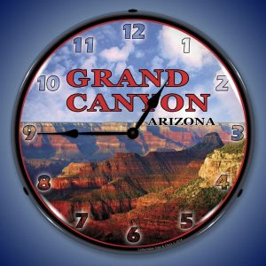 Grand Canyon Arizona LED Lighted Wall Clock