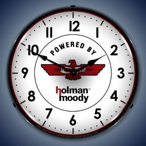 Holman Moody LED Lighted Wall Clock