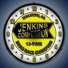 Jenkins Competition LED Lighted Wall Clock