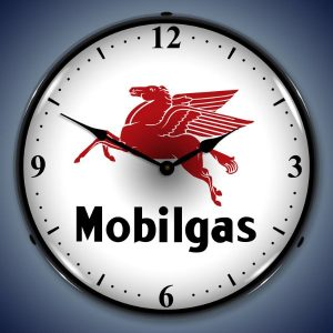 Mobilegas LED Lighted Wall Clock